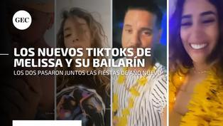 Mira aquí los TikToks de Melissa Paredes y su bailarín Anthony Aranda