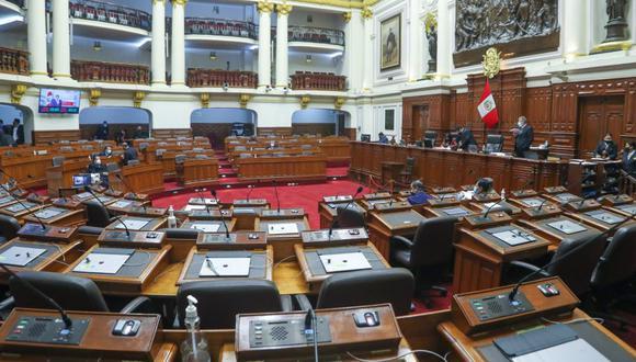 Congreso continuó con la elección de tribunos. (Foto: Congreso de la República)