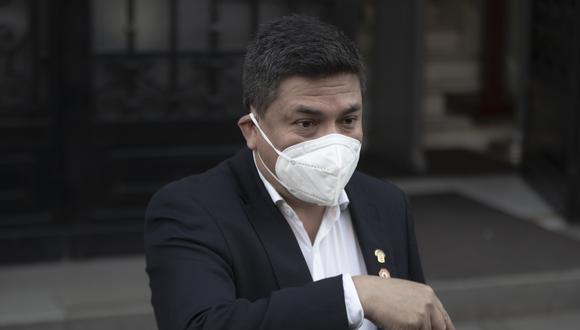 Moisés González se convirtió en un congresista no agrupado tras renunciar a Alianza Para el Progreso. (Foto: GEC)
