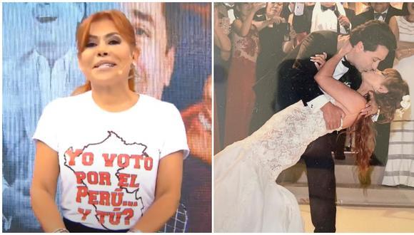 Magaly Medina contó detalles de su reconciliación con Alfredo Zambrano. (Fotos: Captura ATV / Instagram)