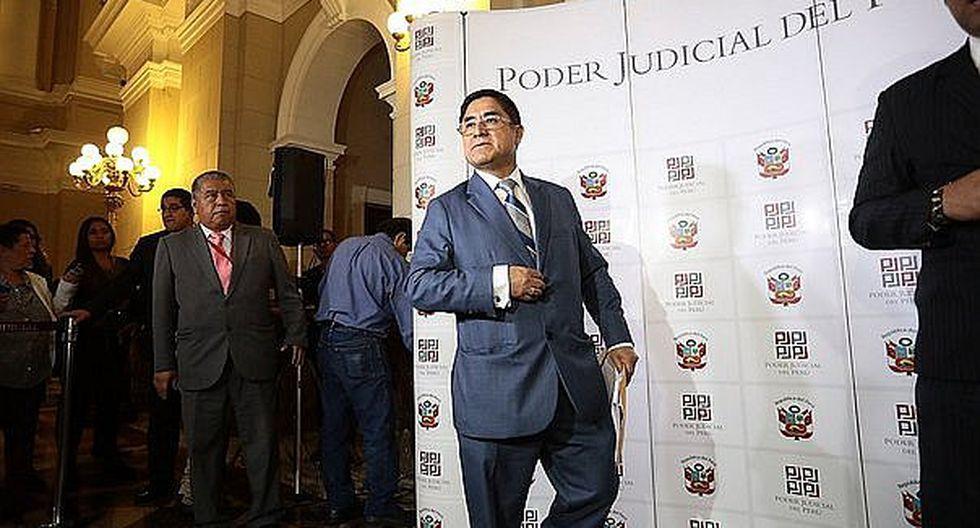 César Hinostroza: Intervienen oficina de juez que coordinó pago con Hinostroza