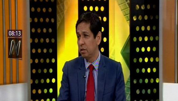 Jorge Meléndez considera que Fuerza Popular y Apra deben participar de diálogo por adelanto de elecciones