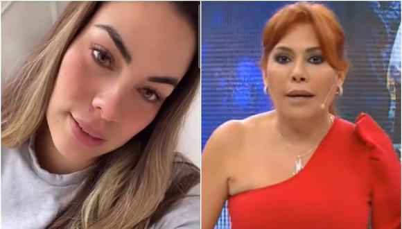 Aída Martínez dice que no se refería a Magaly. (Instagram)
