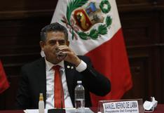 """Manuel Merino niega coordinación con Antauro Humala: """"Nos están poniendo temas distractivos"""""""