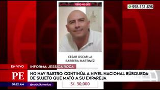 Continúa la búsqueda a nivel nacional de sujeto que asesinó a su expareja e hija