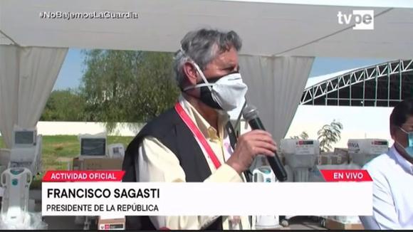 Francisco Sagasti on the Peruvian vaccine