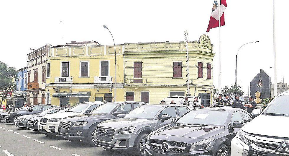 San Miguel: PNP recupera 12 autos de alta gama por un millón de dólares