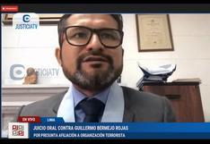Abogado de Guillermo Bermejo aún ejerce su defensa pese a ser contratado por ministro Luis Barranzuela