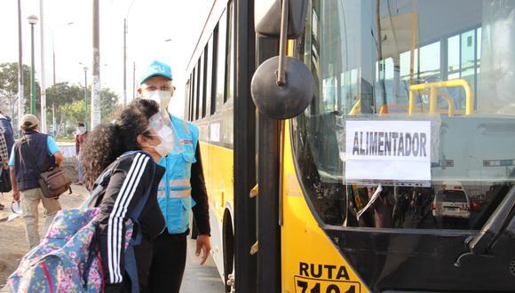 Los operadores del Metropolitano suspendieron desde el viernes algunas rutas alimentadoras. @photo.gec