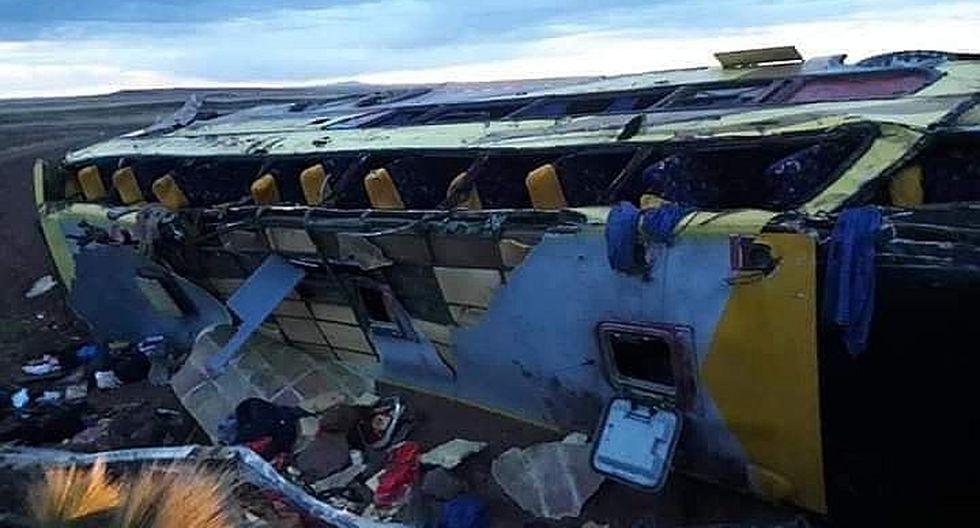 A 18 se eleva la cifra de muertos en accidente de bus de Expreso Yunguyo