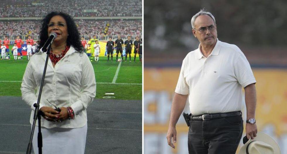 Manuel Burga se disculpó con Eva Ayllón