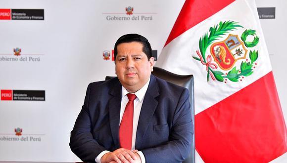 Alex Contreras Miranda asumirá como jefe del Viceministerio de Economía del MEF. (Foto: GEC)
