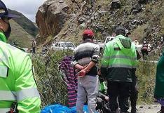 Familia que viajaba en vehículo cae a un abismo en Huánuco y deja un fallecido