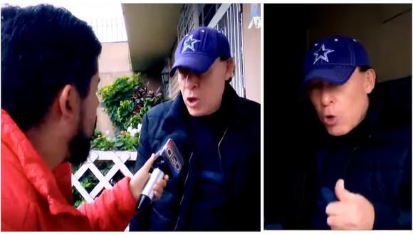 'Yuca': así reaccionó contra reportero que le preguntó si cometió un delito (VIDEO)