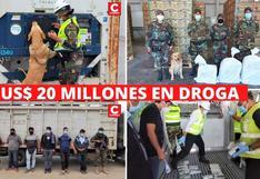 US$ 20 millones están valorizados los 485 kilos de droga incautados en Paita y Tambogrande