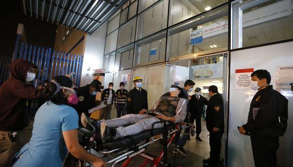 De acuerdo con un comunicado del Minsa, estas personas resultaron heridas por ataques de proyectil, traumatismos, inhalación de gases, heridas punzo cortantes, entre otros. Foto: César Campos / @photo.gec