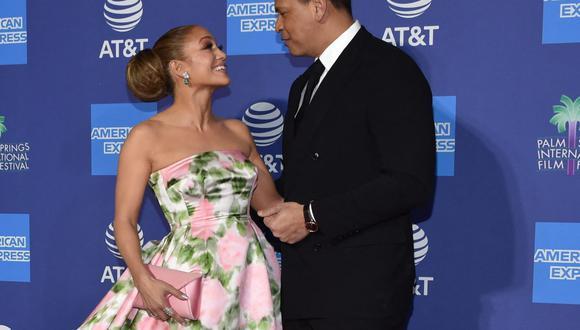 Jennifer Lopez y Alex Rodríguez siguen juntos. (Foto: AFP)