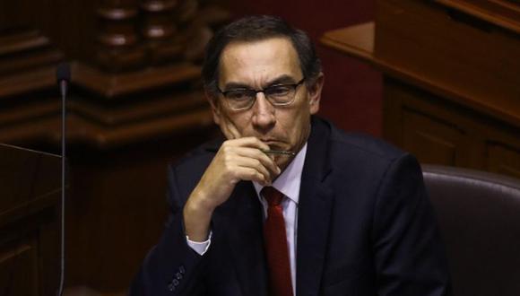 El expresidente Martín Vizcarra llegó a la sede de la Fiscalía este jueves para rendir su manifestación. (Foto: GEC)