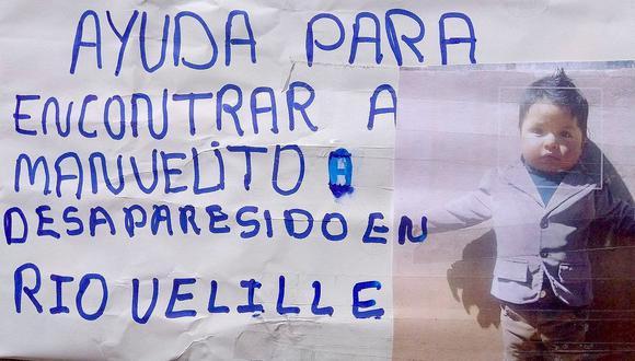 Drama tras desaparición de niño en accidente de bus en Cusco