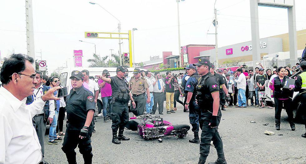 Joven motociclista fallece en violento accidente de tránsito en Víctor Larco (VIDEO)