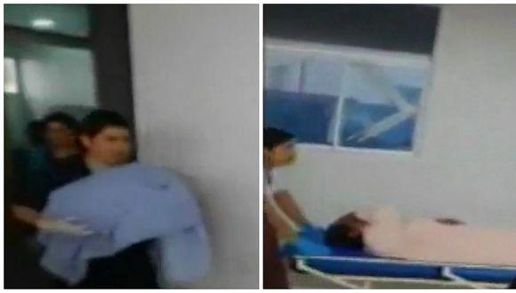 Comas: mujer da a luz a un niño en el baño de un hospital