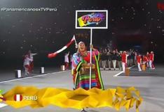 """Panamericanos ENVIVO: Delegación peruana hace su aparición en evento inaugural al ritmo de """"Cariñito"""" (VIDEO)"""