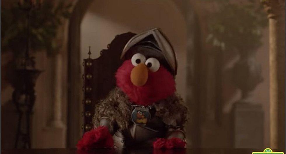 Elmo llega a la serie Game of Thrones para intentar mediar entre Tyrion y Cersei (VIDEO)