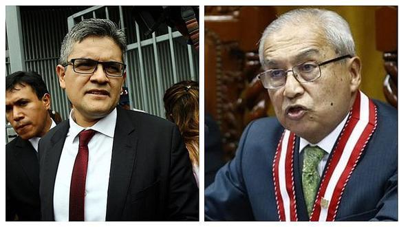 José Domingo Pérez sobre Chávarry: Espero que Junta Nacional de Justicia lo destituya como fiscal supremo