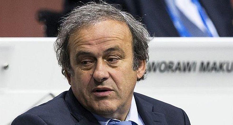 """Michel Platini dimite como presidente de UEFA para defenderse """"ante tribunales suizos"""""""