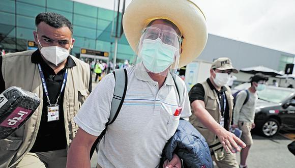 El candidato de Perú Libre insistió en su oposición a dar nombres de las personas que integran el equipo técnico en esta segunda vuelta.