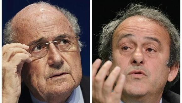 """Joseph Blatter y Michel Platini son de la """"misma escuela"""", para Romario"""