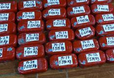 Intervienen a dos sujetos con más de 40 kilos de alcaloide de cocaína en Huánuco (VIDEO)