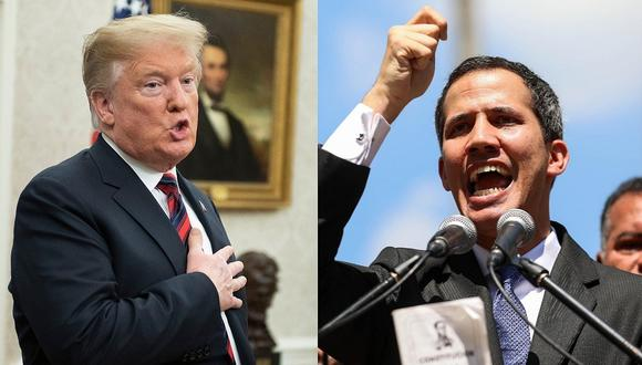 Donald Trump reconoce a Juan Guaidó como presidente interino de Venezuela