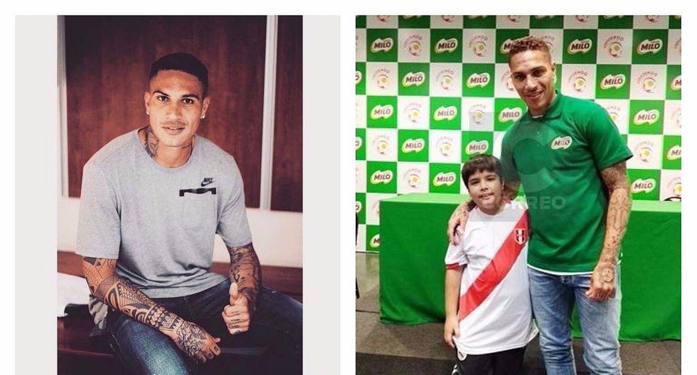 Paolo Guerrero: pequeño Dylan cumple su sueño de conocerlo y recibe firma en camiseta (VIDEO)