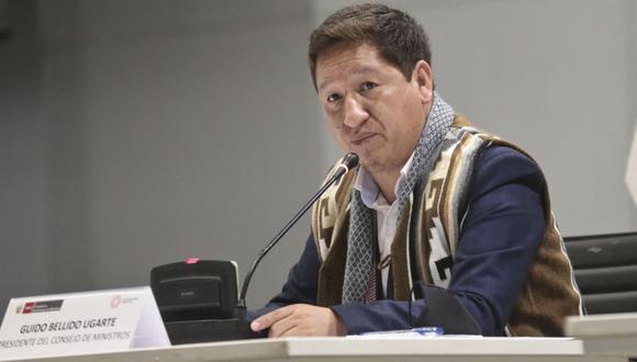 Siguen los cuestionamientos contra Guido Bellido, primer ministro del presidente Pedro Castillo. (Foto: PCM)