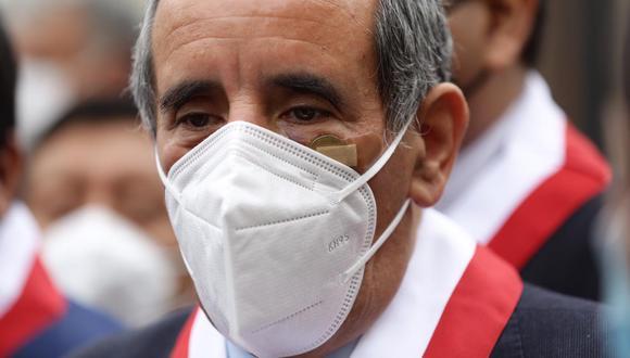 Ricardo Burga, vocero de Acción Popular. Fotos: Fernando Sangama