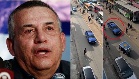 "Daniel Urresti sobre venezolanos que atacaron patrullero: ""Ellos venden drogas y cometen asaltos"""