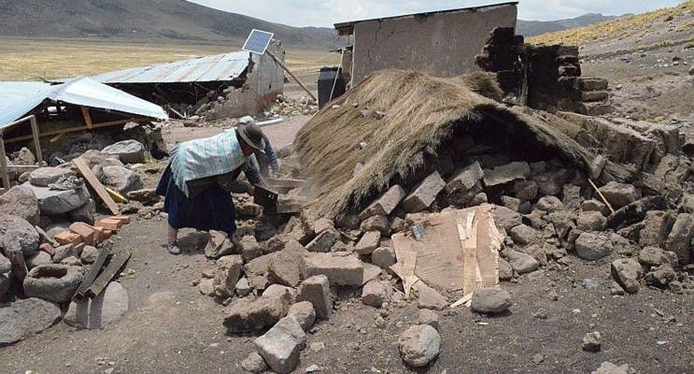 Almenos 35 sismos se registraron en el 2017 en la región Puno