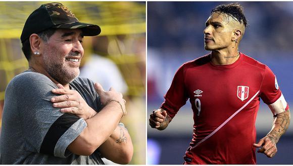 """Maradona sobre sanción contra Paolo Guerrero: """"Esto lo viví en carne propia"""""""