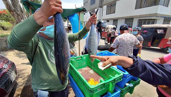 Armap señaló es muy difícil encontrar cojinova, toyo de leche, pez sierra o choros de mar en el mercado. (Foto: GEC)