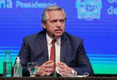Argentina: Alberto Fernández dice que se prevé vacunar en diciembre a 300.000 personas