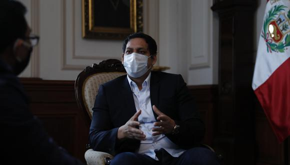 Luis Valdez se refirió a la reunión de la bancada de Alianza para el Progreso con el presidente Martín Vizcarra. (Foto: GEC)