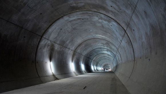 Las obras de la Línea 2 del Metro de Lima se paralizaron desde mediados de marzo hasta inicios de julio, debido a la pandemia. (Difusión)