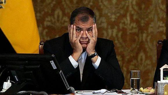 Ecuador pedirá a la Interpol el arresto de Rafael Correa por caso de secuestro