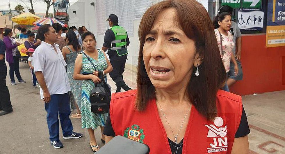JEE Tacna detecta propaganda de siete partidos