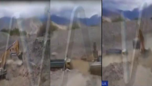Moquegua: conductores salvan de morir durante huaico
