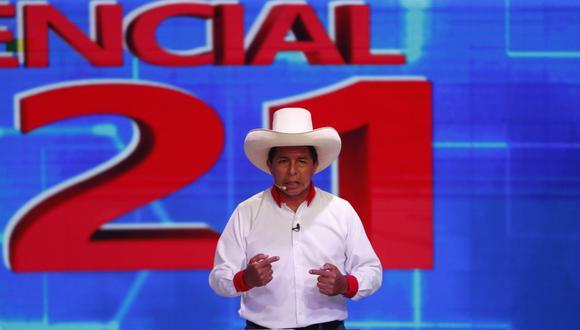 Pedro Castillo es el candidato presidencial de Perú Libre en las Elecciones 2021. (Foto: Hugo Pérez / @photo.gec)