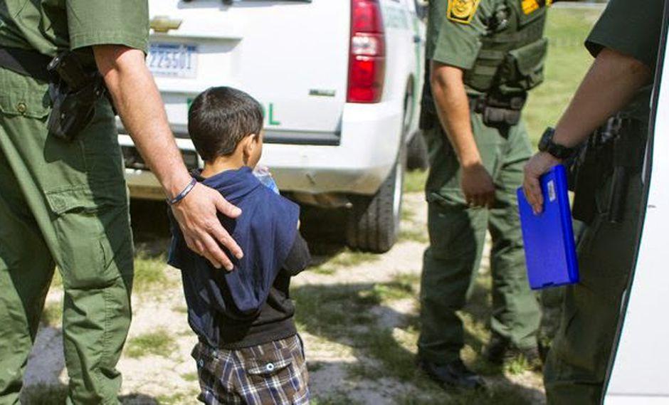 Cae número de niños capturados sin acompañantes en EE.UU.