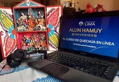 Más de 97 mil personas aprovecharon la cuarentena para aprender quechua de manera virtual