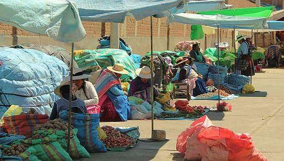 Azángaro: Comerciantes de otros lugares no podrán vender hasta que muestren prueba de Covid-19